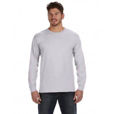 784AN Anvil 784AN Adult Midweight Long-Sleeve T-Shirt ASH