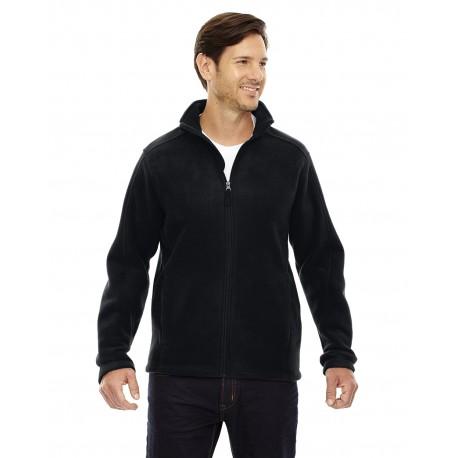 88190T Core 365 88190T Men's Tall Journey Fleece Jacket BLACK 703