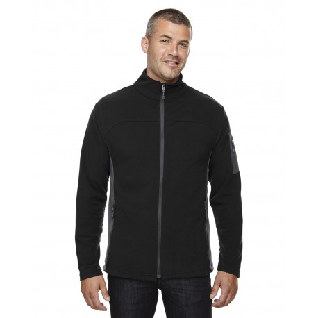 88123 North End 88123 Men's Microfleece Jacket BLACK 703