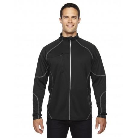 88174 North End 88174 Men's Gravity Performance Fleece Jacket BLACK 703