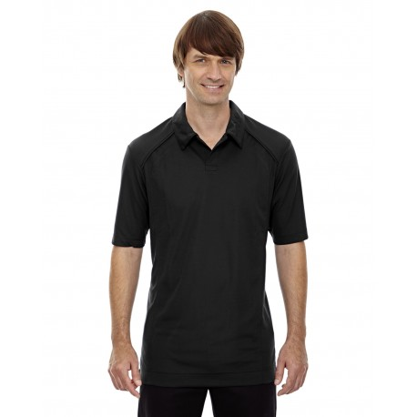 88632 North End 88632 Men's Recycled Polyester Performance Pique Polo BLACK 703