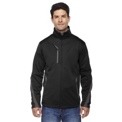 North End 88649 Men's Escape Bonded Fleece Jacket
