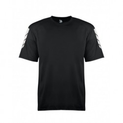 Badger 2128 Metallic Print Youth Short Sleeve T-Shirt