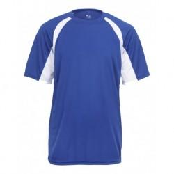 Badger 2144 B-Core Youth Hook Short Sleeve T-Shirt