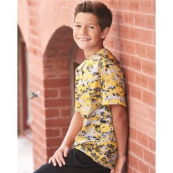 Badger 2180 Digital Camo Youth Short Sleeve T-Shirt