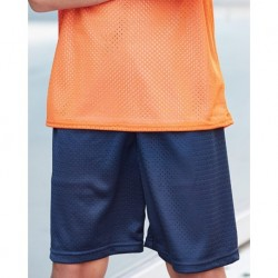 Badger 2207 Pro Mesh Youth 6'' Inseam Shorts