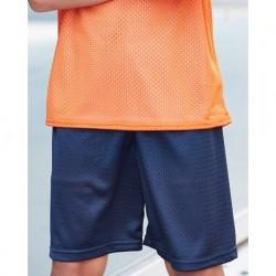 Badger 2207 Pro Mesh Youth 6'' Inseam Shorts