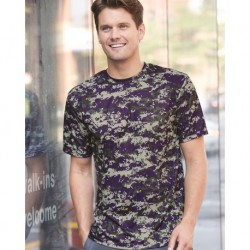 Badger 4180 Digital Camo Short Sleeve T-Shirt