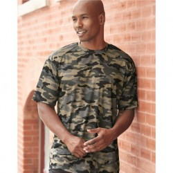 Badger 4181 Camo Short Sleeve T-Shirt