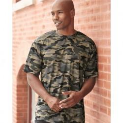 Badger 4181 Camo Short Sleeve T-Shirt