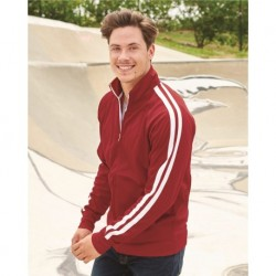 Independent Trading Co. EXP70PTZ Unisex Poly-Tech Full-Zip Track Jacket