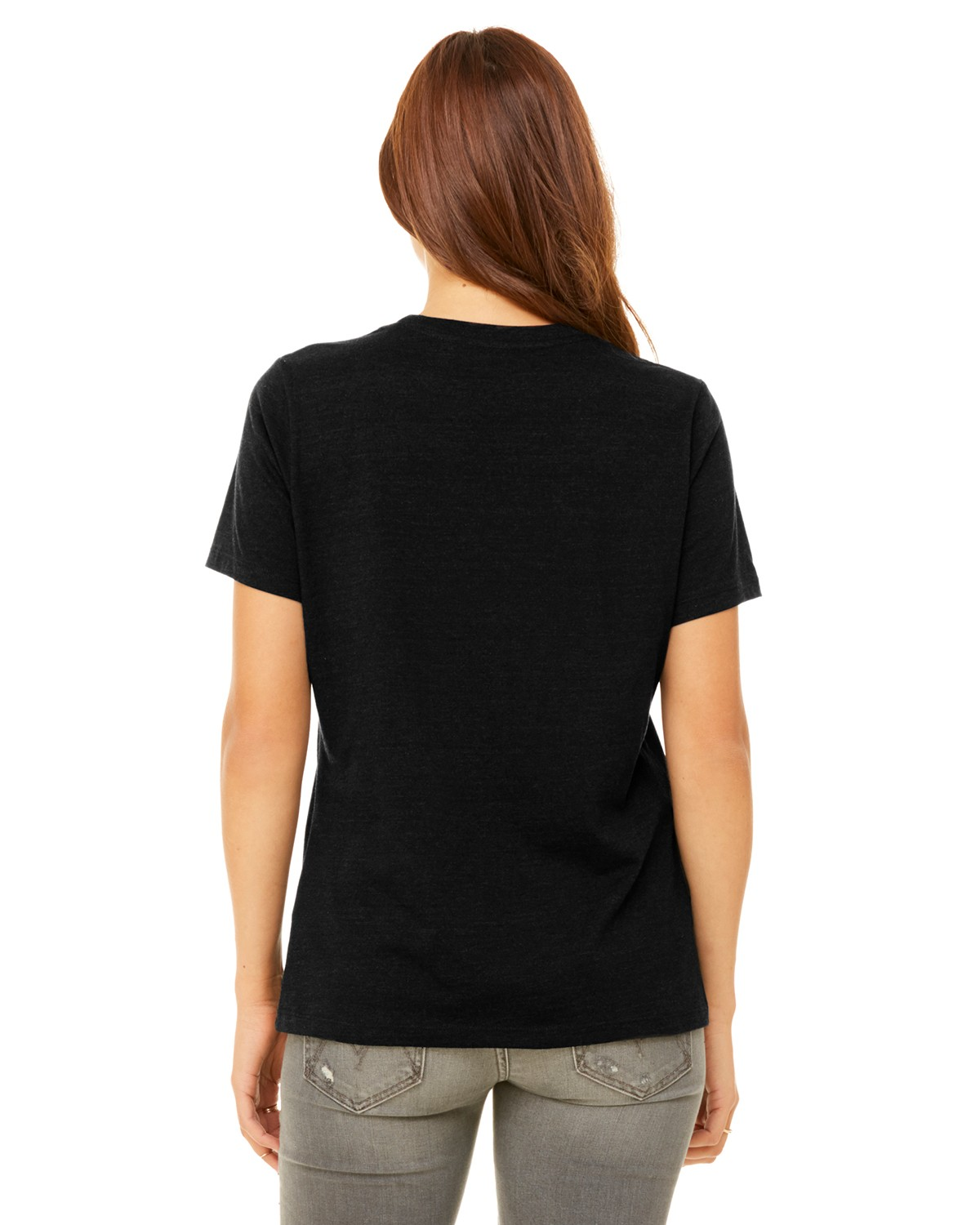 B6400 Bella + Canvas BLACK HEATHER