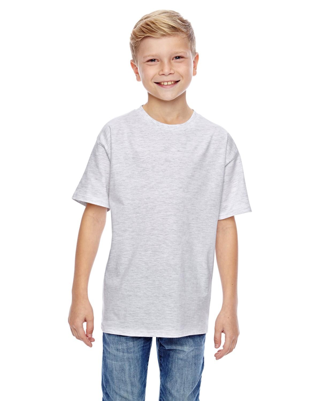Hanes 498y youth 4 5 oz 100 ringspun cotton nano t t shirt for 100 ringspun cotton t shirt wholesale