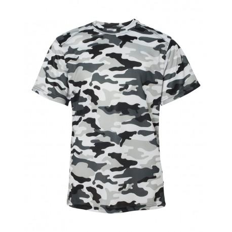 3b7fc07a Badger 2181 Camo Youth Short Sleeve T-Shirt