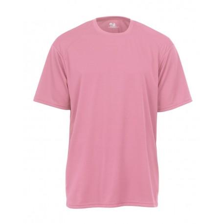 4120 Badger 4120 B-Core Short Sleeve T-Shirt PINK