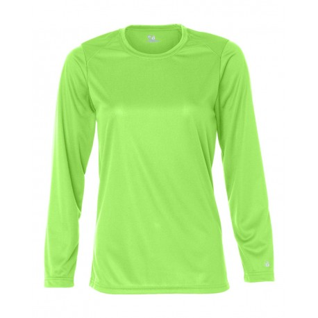 6f9a2f5a9 Badger 4164 B-Core Women's Long Sleeve T-Shirt