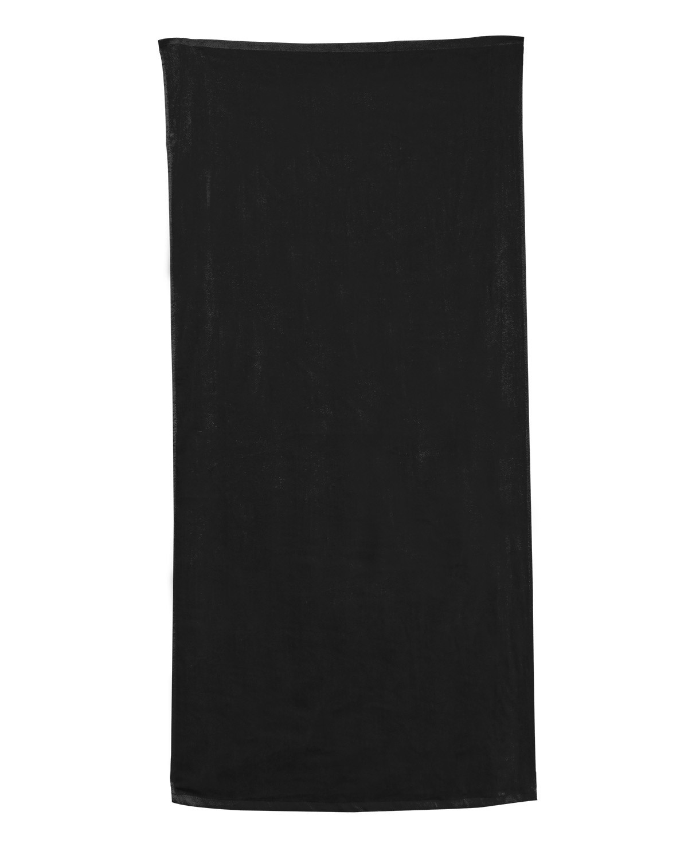 C3060 Carmel Towel Company BLACK POLKA DOT