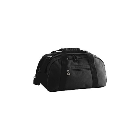 1703 Augusta Sportswear 1703 Large Ripstop Duffel Bag BLACK/BLACK