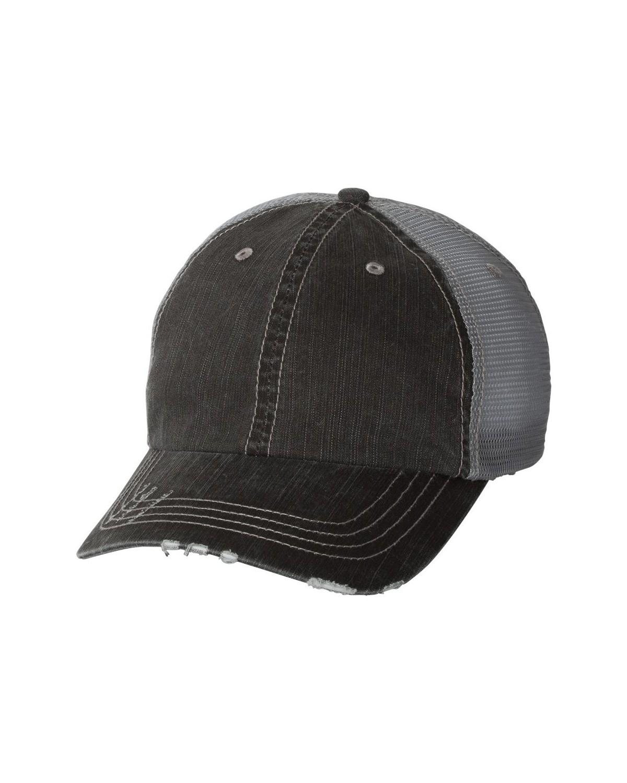6990 Mega Cap BLACK/ GREY