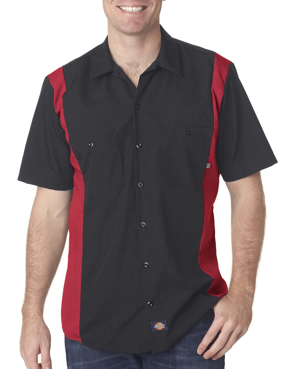 LS524 Dickies BLACK/ENG RED