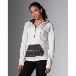 MV Sport W18139 Angel Fleece Nadia Full Zip