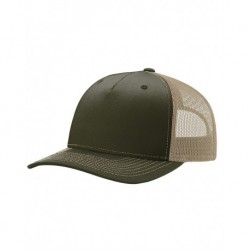 Richardson 112FP Five-Panel Snapback Trucker Cap