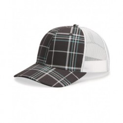 Richardson 112P Patterned Snapback Trucker Cap