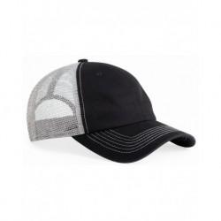 Sportsman 3100 Contrast Stitch Mesh Cap