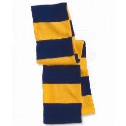 Sportsman SP02 Rugby Striped Knit Scarf