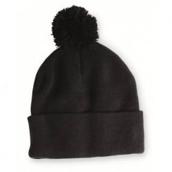 Sportsman SP15 Pom-Pom 12 Knit Beanie