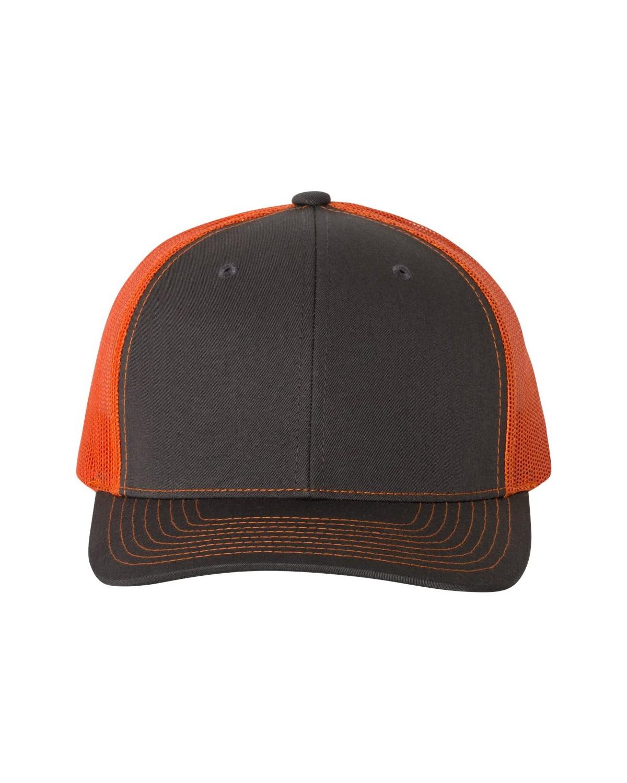 112 Richardson Charcoal/ Orange