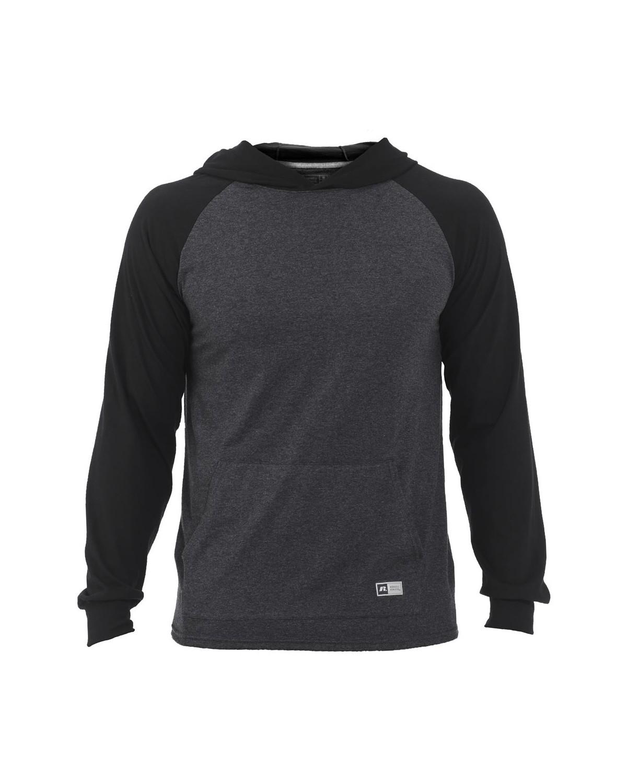 Russell Athletic 64HTTM Jersey Pullover Hooded Raglan