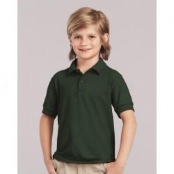 Gildan 72800B DryBlend Youth Double Pique Sport Shirt