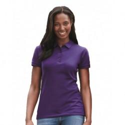 Gildan 82800L Premium Cotton Womens Double Pique Sport Shirt