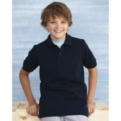 Gildan 94800B DryBlend Youth Pique Sport Shirt
