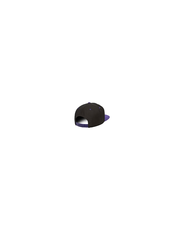 6089 Yupoong BLACK/PURPLE