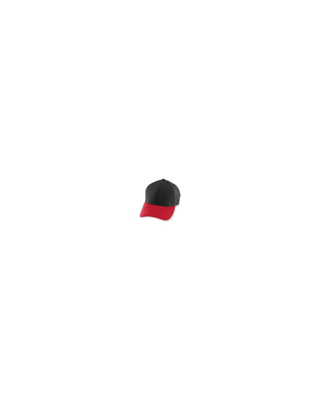 6236 Augusta Drop Ship BLACK/RED