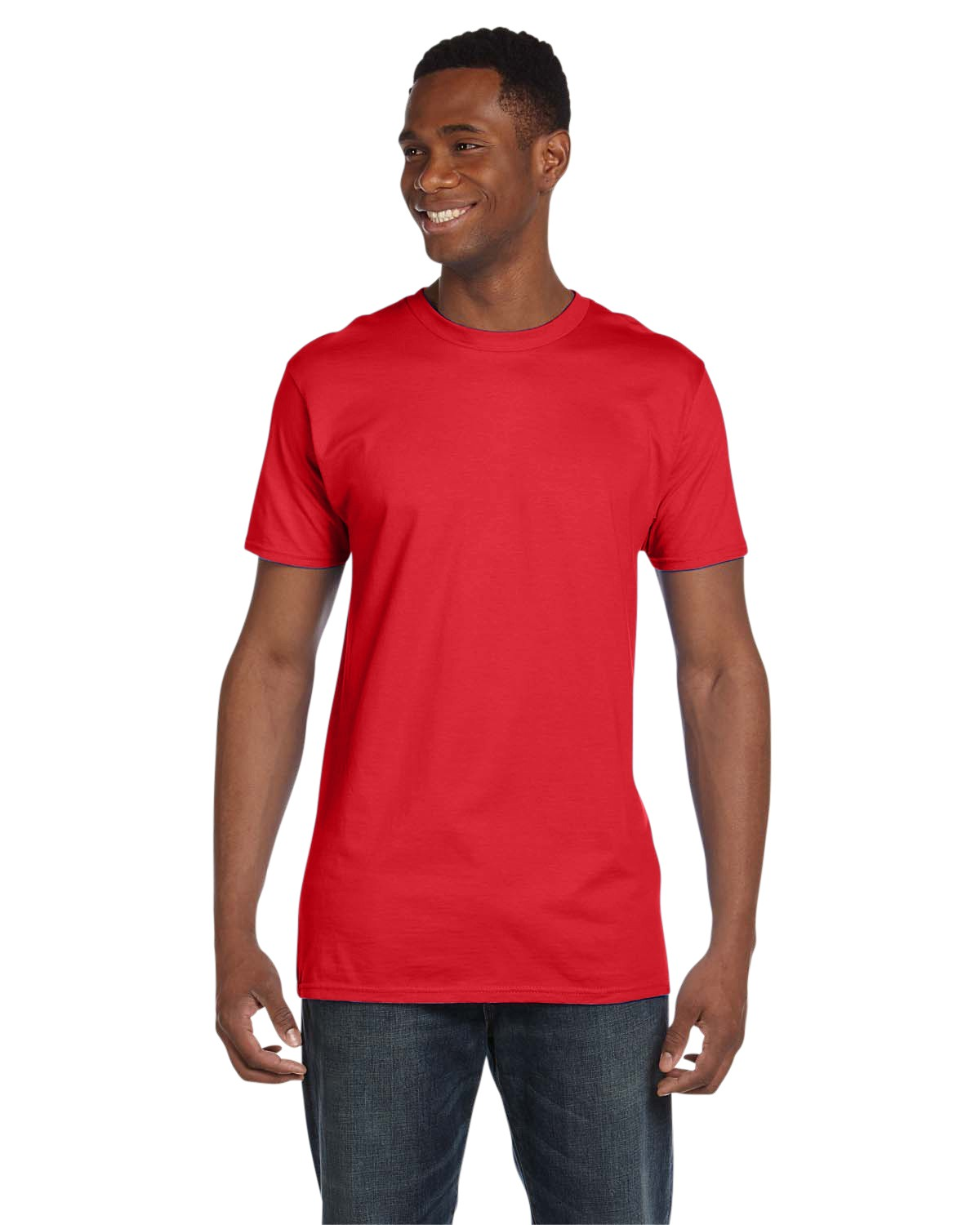 4980 Hanes Athletic Red