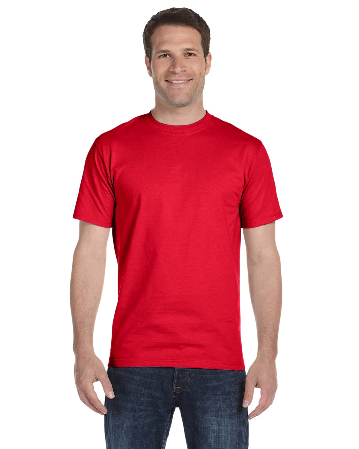 5280 Hanes Athletic Red