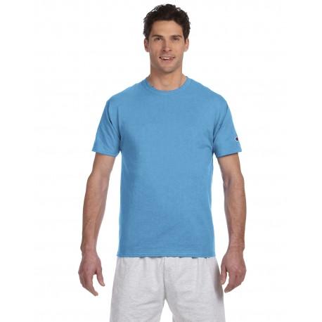 T525C Champion T525C / T425 Adult 6 oz. Short-Sleeve T-Shirt LIGHT BLUE