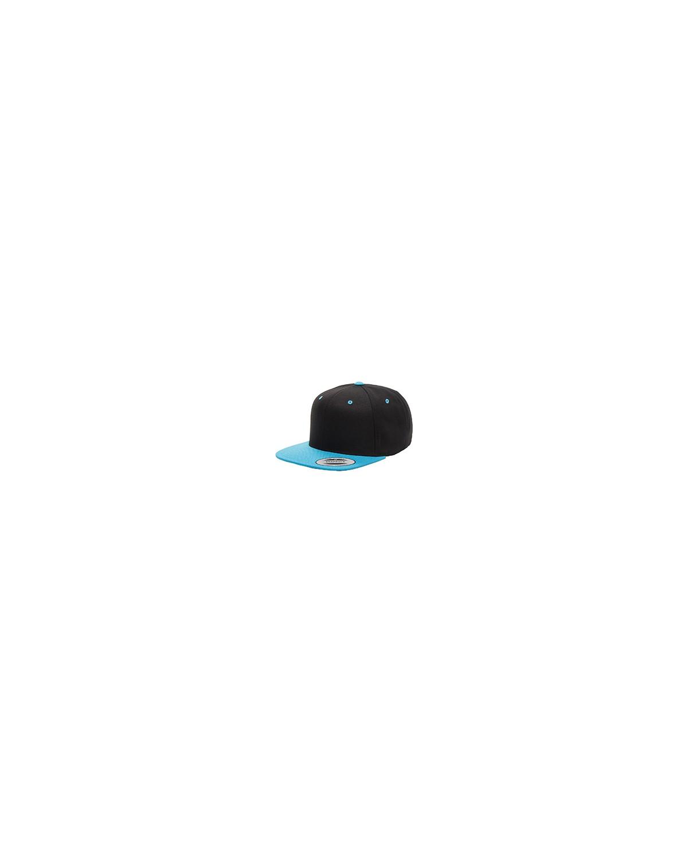 6089 Yupoong BLACK/TEAL