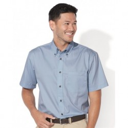 FeatherLite 0281 Short Sleeve Stain-Resistant Twill Shirt