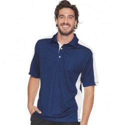 FeatherLite 0465 Colorblocked Moisture Free Mesh Sport Shirt