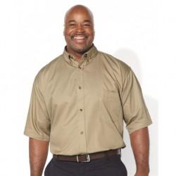 FeatherLite 6281 Short Sleeve Twill Shirt Tall Sizes