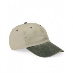 Mega Cap 7601 Pigment-Dyed Twill Cap