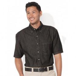 Sierra Pacific 0211 Short Sleeve Denim Shirt