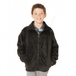 Sierra Pacific 4061 Youth Fleece Full-Zip Jacket