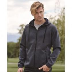 Weatherproof 18700 Heat Last Fleece Tech Full-Zip Hooded Sweatshirt