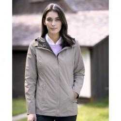 Weatherproof 17604W Womens 32 Degrees Melange Rain Jacket