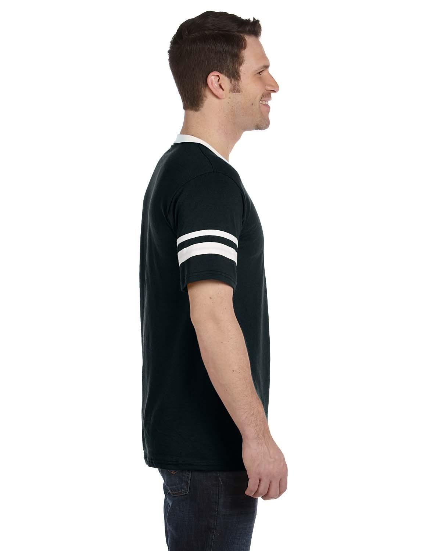 360 Augusta Sportswear BLACK/WHITE